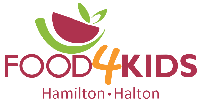 Food4kids logo hamilton halton